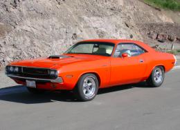 1970 Dodge Challenger Hemi Orange Muscle Car Build by ...
