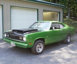 plymouth duster bad apple muscle car build by evilscamp. Black Bedroom Furniture Sets. Home Design Ideas