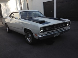1971 plymouth duster muscle car build by super bee cc. Black Bedroom Furniture Sets. Home Design Ideas