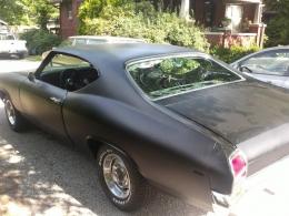 1969 Chevrolet Chevelle Flat Black Muscle Car Build By Bocomo1969